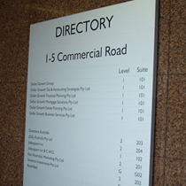 Wall Directory Signs4